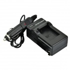 DSTE Battery Charging Cradle w/ Car Charger for GoPro HD Hero3 / 3+ AHDBT-201 / 301 - Black