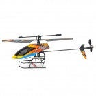 JINXINGDA 359 Rechargeable 4-CH 2.4GHz Radio Control Single Blade R/C Helicopter w/ Gyro - Yellow