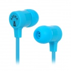KEEKA KA-06 Creative Toothpaste Box Style In-Ear Headphone - Blue