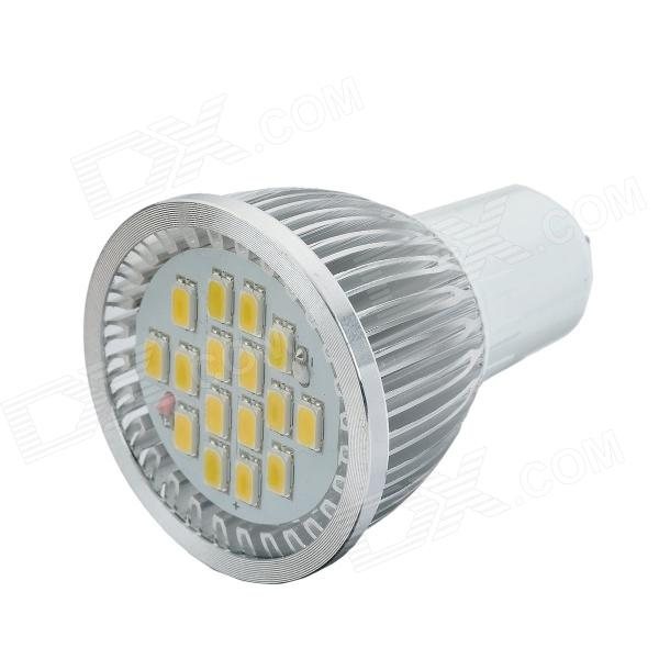 G5.3 6W 220V 420lm 3000K Warm White LED Light - Silver + White husqvarna k 3000 cut n break б у