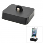 Charging Docking Station w/ 8-Pin Lightning + 30-Pin / 8-Pin / Micro USB Input for iPhone 5 - Black