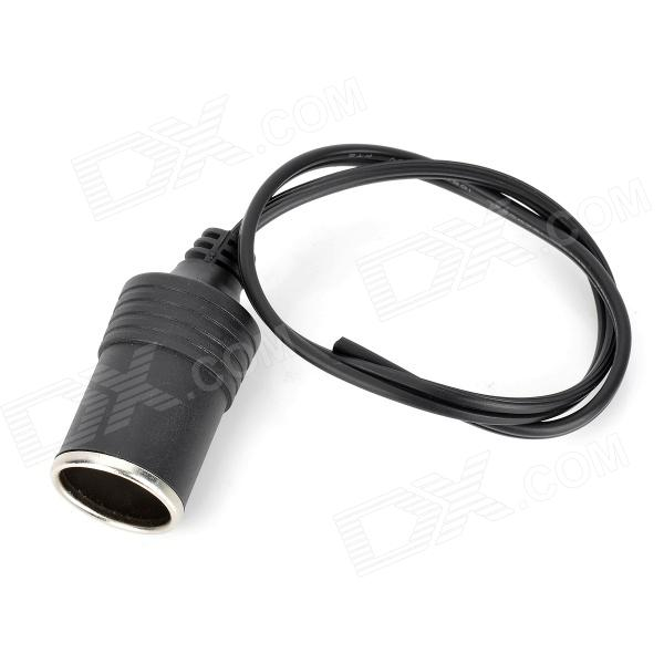 DIY Automobile / Motorcycle Cigarette Lighter Charger Socket (12~48V / 20A / 35cm)