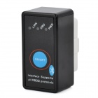 ELM327 Bluetooth Interface OBD II Auto Diagnostic Scanner Tool - Black + White (12V)