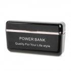 External 2600mAh Emergency Mobile Power Charger Battery for iPhone 5 - Black