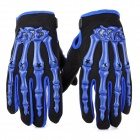 PRO-BIKER CE04 Skeleton Breathable Full Finger Motorcycle Racing Gloves (Size-M / Pair)