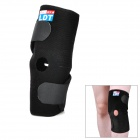 Protective Sports Basketball Rubber Foam + Nylon Knee Support - Black