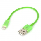 USB Sync Data / Charging 8-Pin Lightning Cable for iPhone 5 - Green (11CM)