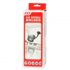 S2119W-D Universal 360' Rotatable Car Mount Adjustable Holder Bracket for iPhone + More - Black