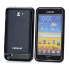 Protective Aluminum Alloy Bumper Frame for Samsung Galaxy Note i9220 - Black