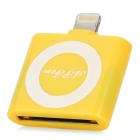Apple 30 Pin Buchse auf 8 Pin Blitz Male Adapter für iPad Mini / iPhone 5 - Yellow