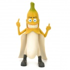 XJ02 Evil Bad Banana Man PVC Doll Toy - Yellow (29cm-Height)