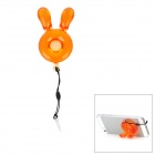 Remax IQ Rabbit Style Holder w/ Anti-Dust Plug - Orange