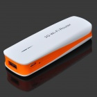 3-in-1 3G 802.11/b/g/n 150Mbps Wi-Fi Wireless AP Portable Power Router - White + Orange