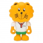 Project Singa S021 IRCC Lion Figure Toy - Yellow + White + Green