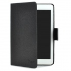 ALIS Protective Flip Open PU Leather Case for Ipad MINI - Black