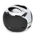 Mini Portable Bluetooth v2.1 Audio Speaker w/ A2DP / Hands-Free - Black + Silver