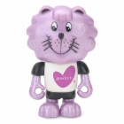 Project Singa S025 Goodrich Lion Figure Toy - Purple + Black + White