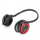 LYEJ-ELIUBA-Hongse Rechargeable Bluetooth V2.0 Kopfhörer MP3 Player w / TF / Freisprechen - Red + Black