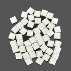 7011 DIY 0.02W RGB 5050 SMD LED Emitters - White (50 PCS)
