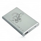 SX001 2.5&quot; Aluminum Alloy USB 3.0 SATA Series Portable HDD External Enclosure - Grey