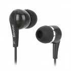 Senmai SM-E501 Stylish In-Ear Earphone - Black (3.5mm Plug)
