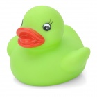 XY001 Funny Floating Duck Bath Bathing Toy for Baby / Kid - Green