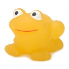 HC021 Funny Color Changing Floating Frog Bath Bathing Toy - Yellow