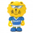 Project Singa S010 Courts Lion Figure Toy - Blue + White + Yellow