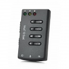 USB 2.0 7.1CH Stereo Sound Card Adapter - Black
