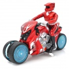 333-933B 40MHz 5-Channel Remote Drifting Motorcycle - Red