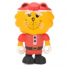 Project Singa S025 Santa Lion Figure Toy - Red + Yellow + Black