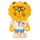 Project Singa S022 Star Student Lion Figure Toy - Yellow + White + Blue