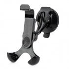 HC-01 Universal 360 Degree Rotatable Car Holder for Iphone 5 + More - Black