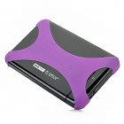 "Orico XG-2519US3 2,5 ""USB 3.0 SATA Series Portable HDD / SSD Externes Gehäuse Case - Schwarz + Purple"