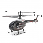 Great Wall 9938 2.4GHz 4-Channel Remote Helicopter - Grey + Black (Mode 2)