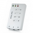 USB 2.0 7.1CH Stereo Sound Card Adapter - White
