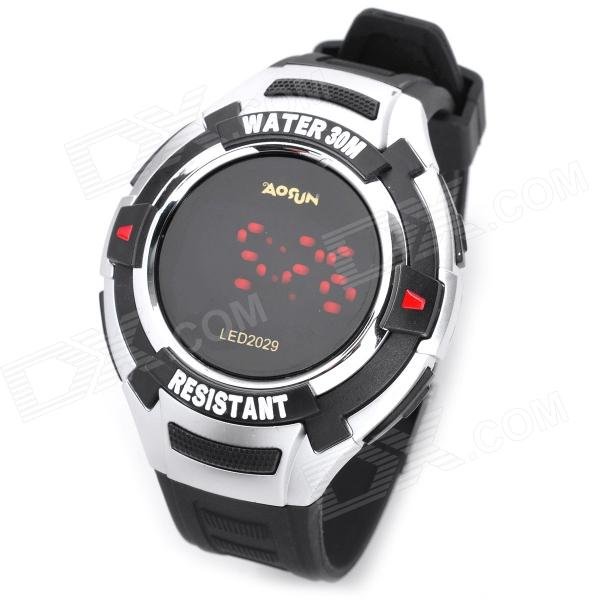 Multifunction PU Band Digital Wrist Watch w/ 7-Color LED Flashing Light - Black writing for immortality – women and the emergence of high literary culture in america