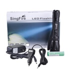 SingFire SF-902 800lm 5-Mode White Memory Flashlight - Black (1 x 18650)