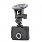 ZEA-MD6100 2.8'' LED Full HD 1080P Wide Angle Car DVR Camcorder - Black