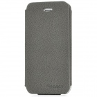 SAMDI Protective Flip-Open PU Leather Case for iPhone 5 - Grey