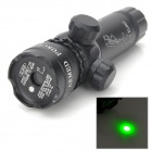 5mW 532nm Green Laser Slight Rifle Scope with Gun Mounts - Black (1 x CR123A)