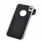 SKINA 360 Degree Fisheyes Lens + Back Case for iPhone 4S - Black