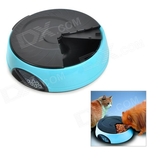 1.2 LCD Automatic Pet Feeder w/ Water Container - Blue + Black (4 x C Size Batteries) игра для xbox xbox360 xbox360 homefront f13532