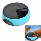 "1,2 ""LCD Automatic Pet Feeder w / Water Container - Blue + Black (4 x C Size Batteries)"