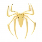 DIY 3D Spider Style Decorative Sticker for Car / Motorcycle - Golden