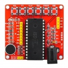 ISD1700 Series Voice Recording Module of ISD1760 - Red + Black
