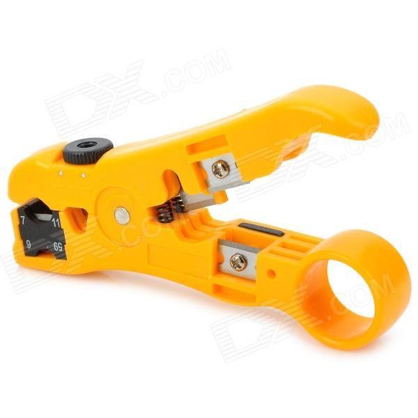 TALON TL-352 Professional Wire / Cable Cutter and Stripper Tool - Yellow best price mgehr1212 2 slot cutter external grooving tool holder turning tool no insert hot sale brand new