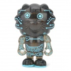 Project Singa S015 Cyber Courtesy Lion Figure Toy - Black
