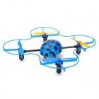 HuanQi 882 2.4GHz RC 4-Channel 4-Axis Aircraft Beetle w/ Gyro - Blue + Black