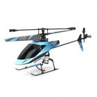 JIN XING DA 359 2.4GHz 4-CH R/C Helicopter w/ Remote Controller + Propeller + Tail Blade - Blue